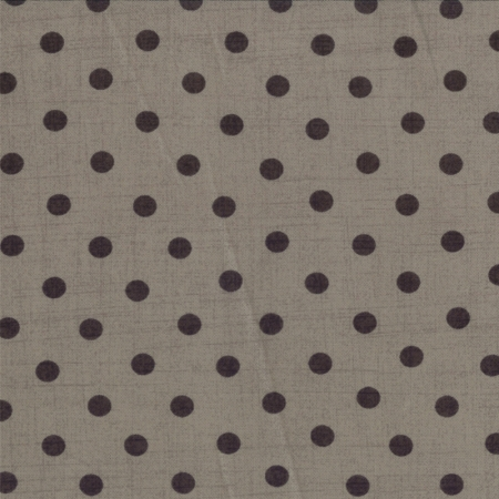 Little Black Dress 2 Black Dots on Gray 30359-15