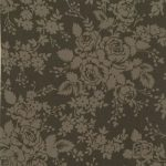 Rawhide Dark Brown Floral Tonal 1864-05949