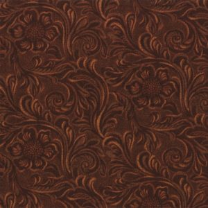 King of the Ranch Brown Tooled Leather 11216-15