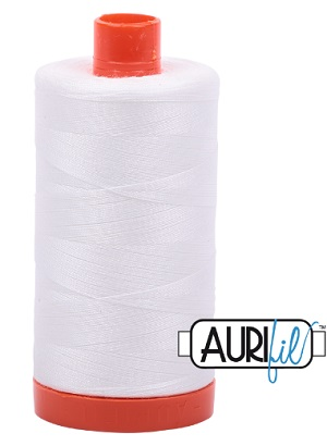Aurifil Thread Natural White 2021 1421 yd