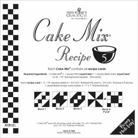Cake Mix Recipe 5 - CM5
