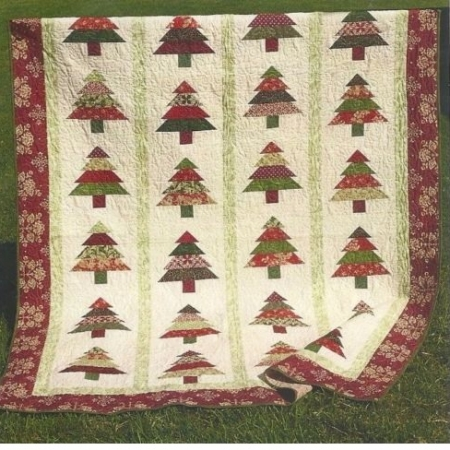 Tree Lot by Danielle Stout of Cozy Quilt Designs