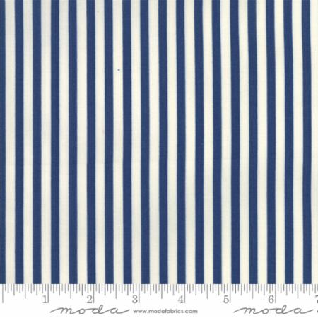 Essentially Yours Liberty Blue and White Stripe 8652 75