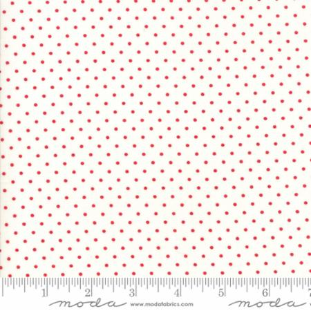 Essentially Yours Red Dots on White 8654 51
