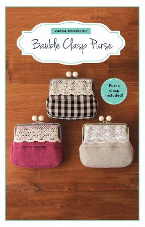 Bauble Clasp Purse Kit ZW2279