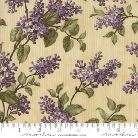 Lilac Ridge Bushes on Cream 2211-11