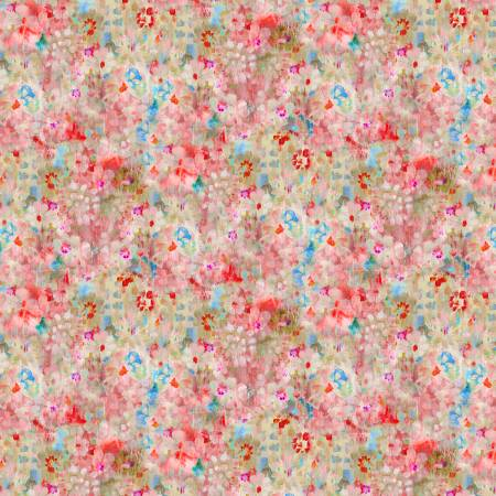 Bohemian Dreams Flower Texture Pink 89195-347