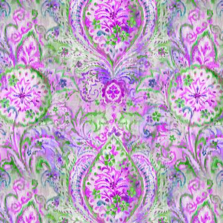 Bohemian Dreams Purple Boho Paisley 89190-167