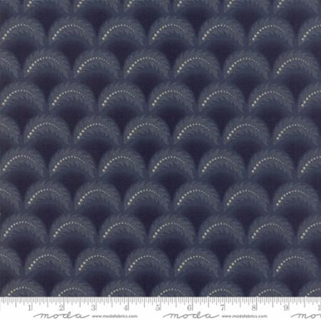 Regency Blues Clamshells Navy Blue 42306 18