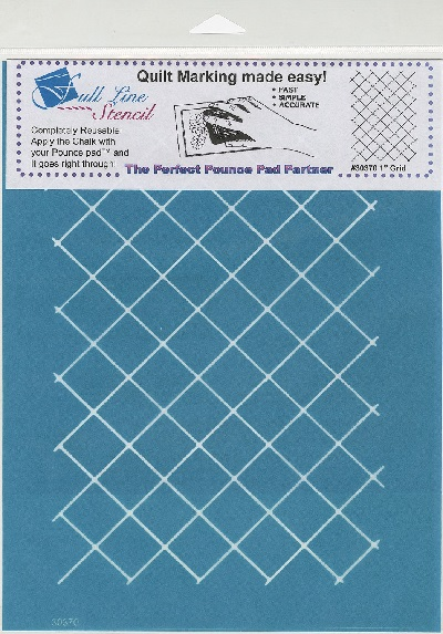 Full Line Stencil One Inch Grid H30370