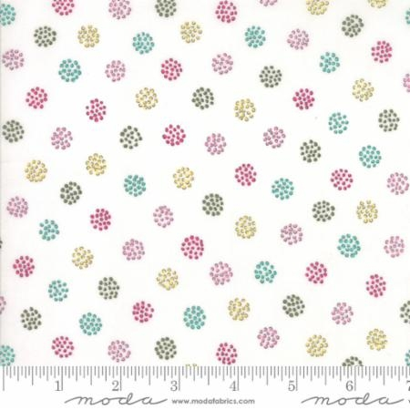Regent St Lawn 2016 Ivory wDotted Dots 33198-11