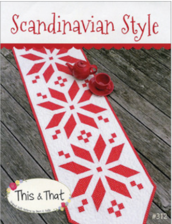Scandanavian Style 17x57 Table Runner TT312 This and That
