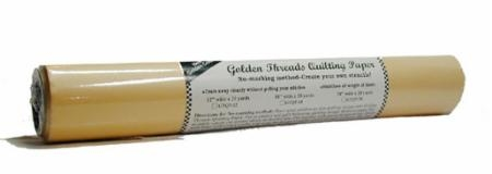 Gold Quilting Paper 12in x 20yd GTQP12