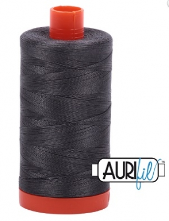 Aurifil Thread 50wt Dark Pewter 2630 1421 yd