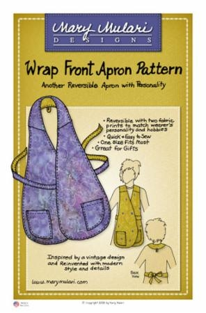 Wrap Front Apron MP 02 Marys Productions