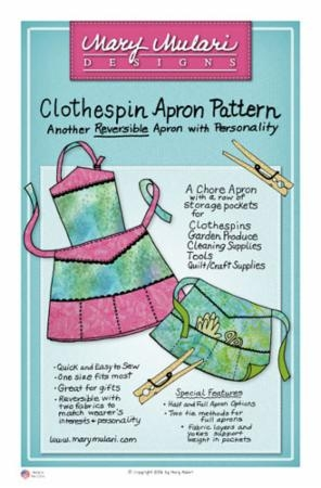 Clothespin Apron MP 06 Marys Productions