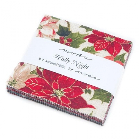 Holly Night Metallic Charm Pack 33100PPM