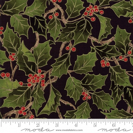 Magnolia Metallics Holly Black 33241-14M