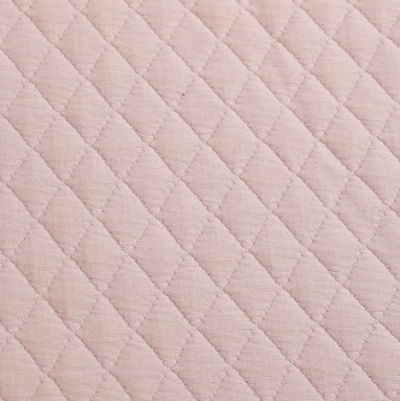 Quilted Texture Blush Pink