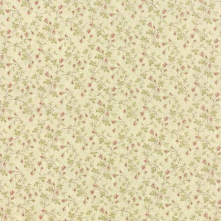 3 Sisters Favorites Tiny Floral on Seagrass 3734-19