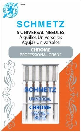 Schmetz Universal Chrome Needle Sz 80-12 Pk5