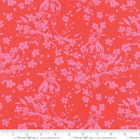 Painted Garden Birdsongs Toile Fruit Punch 11811-18