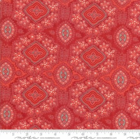 Portsmouth Indian Chintz Red 14861-13