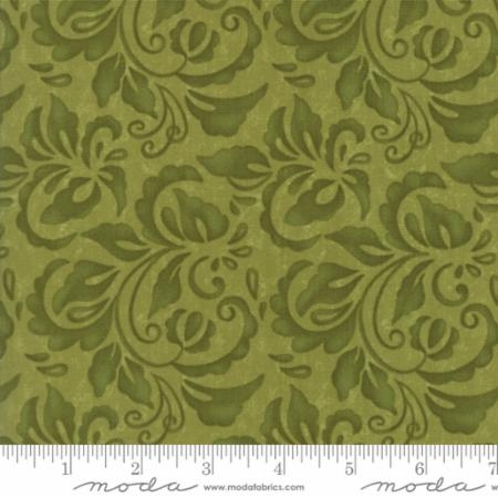 Plush Tonal Damask Moss 17892 14