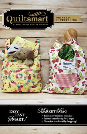 Fun Pack Market Bag QS 10034 Quiltsmart