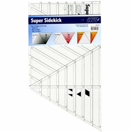 Super Sidekick Ruler JBQ 204 Jaybird Quilts