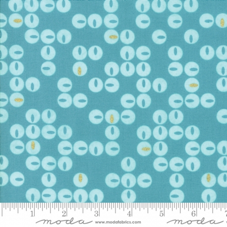 Day In Paris Twinkle Turquoise Teal 1683 17M