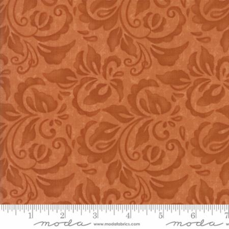 Plush Tonal Damask Terra Cotta 17892 16
