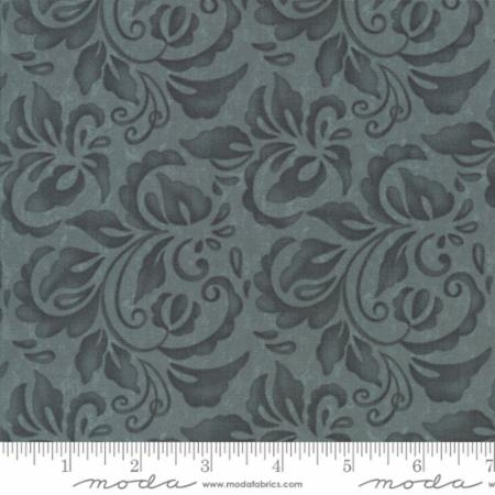 Plush Tonal Damask Ocean 17892 12