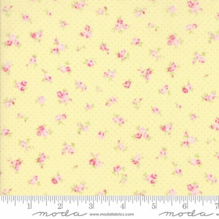 Fleurs Buttercup with Dots and Pink Buds 18632 14