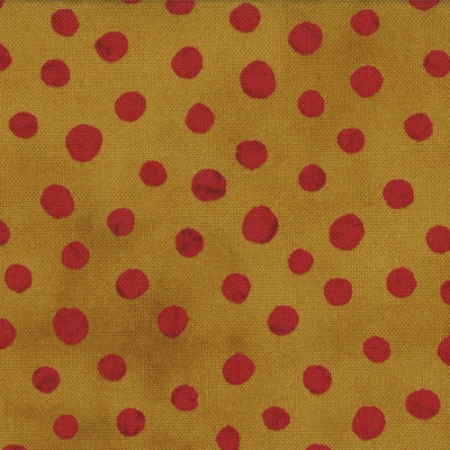 Simple Marks Paprika Red Dots on Gold 23209 19