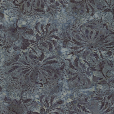 Hope Chest Batik Urchins Stone Blue 42136 17